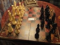 Antiqued Book Folding Chess Set