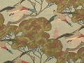 Flying Ducks Fabric & Wallpaper