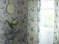Porcelain Wallpaper and Fabric