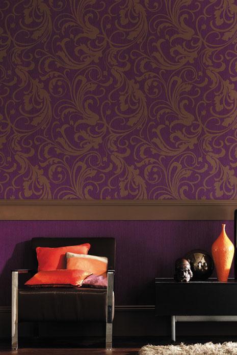 Motif Baroque Wallpaper