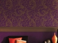 Motif Baroque Wallpaper