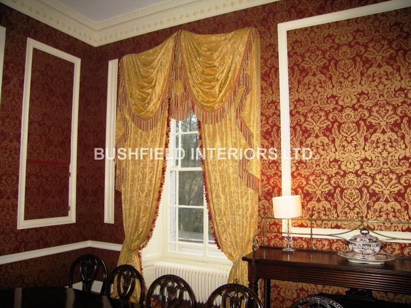 Curtains Bushfield Interiors