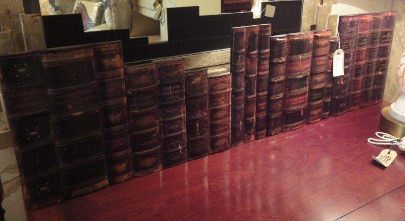 Antique Books 1 Metre Length Bookcase Fascia