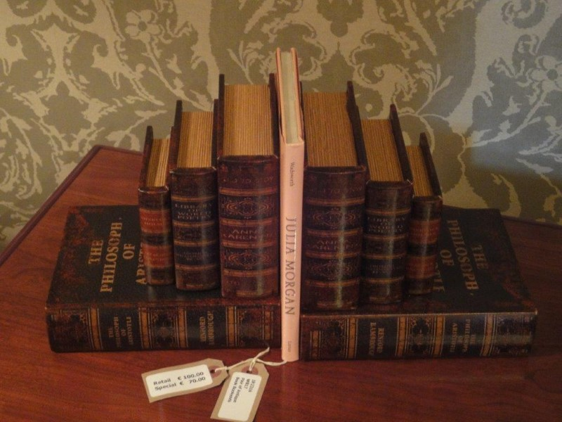 Pair of Antique Book Bookends