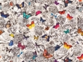 Butterfly Garden Fabric & Wallpaper